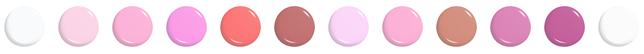 Цветовая гамма блеска для губ Relouis Fashion Gloss