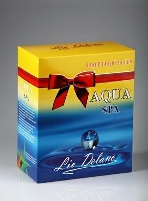 Подарочный набор линии Aqua SPA