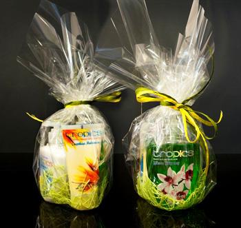 Подарочные наборы Tropics (в полиэтиленовой упаковке)