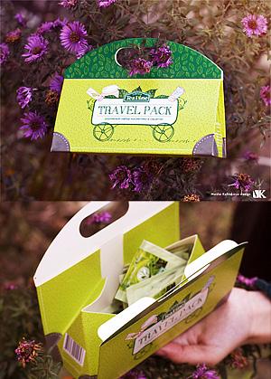 Дорожный набор косметики Modum TRAVEL PACK Tea Line