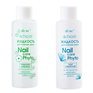 Белита-Витэкс Amore Жидкость для снятия лака Nail Care Phyto