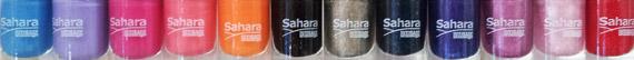 Оттенки лаков SAHARA от LUXVISAGE