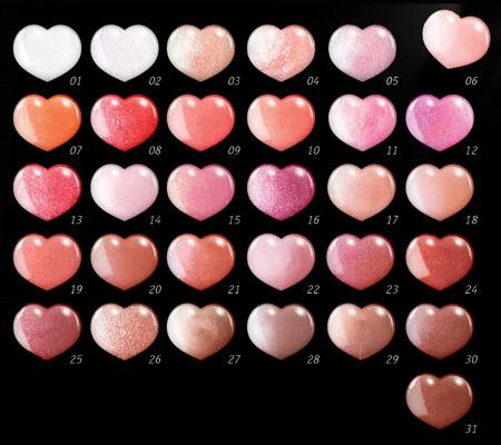 Тона Блеска для губ La Mia Italia с маслом карите от Relouis