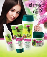 Витэкс: Линия «Репейник» против выпадения волос