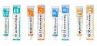 MODUM: Зубные пасты «32 жемчужины» с обновленным составом